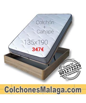 Colchón con Canapé Lima de Colchónes Málaga.com